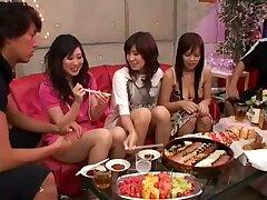 Exotic Japanese girl in Fabulous Score Sex JAV stiffener