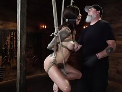 Haley Wilde And Di Marco In Hogtied Bondage Pellicle
