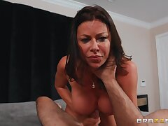 Alexis Fawx gets her eager cunt fucked in agreement plus proper
