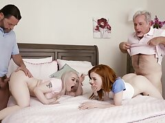 Remarkable home foursome with two doyenne men