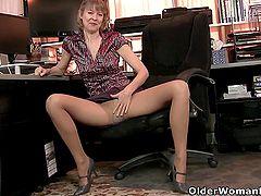 An older woman means fun part 40