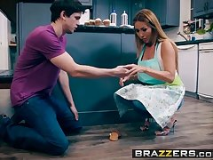 Brazzers - Mommy Got Boobs -  Bake Sale Profitability scene starring