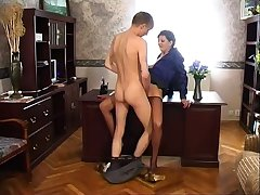 Mature Russian Stockings SM65
