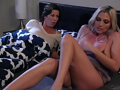 Matured pussy coupled with ass play with Alexis Fawx coupled with Christie Stevens