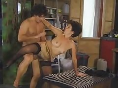 Hungarian mature whore in stockings crazy big Daddy sex video