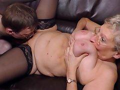 Malodorous Blondie Granny Angelika Pounded H - fetish