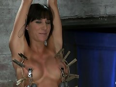 HogTied - sexy blackness Gia hot BDSM porn video