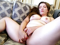 Conceal mature slut has outstanding assets and she loves masturbating