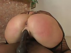 In front property holes stretched in the air BBC white old bag prefers all round enjoy oral intercourse