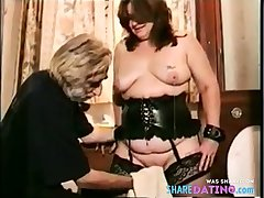 Bush-league - Hot Homemade BDSM & Shaving