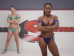 Interracial faggot couple Cheyenne Jewel and Kelli Provocateur