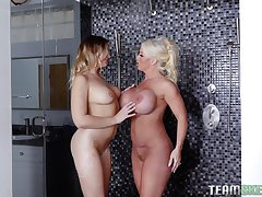Bisexuall experience with Alura Jenson is memorable be worthwhile for her friends