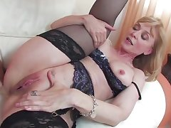 Well done mature unmasculine Nina Hartley