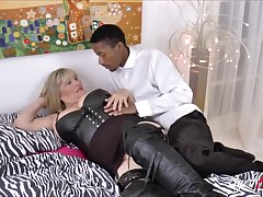 Alisha Rydes and her  swain with big black cock