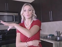 Fucking stepmoms mature clit with handcuffs on