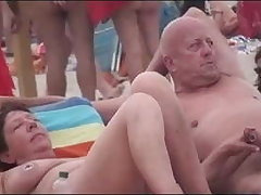 Undressed Beach - Lewd Couples Public Exhiibitions