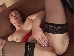 Granny Helga Stillness Craves A Big Hard Dick - HD video