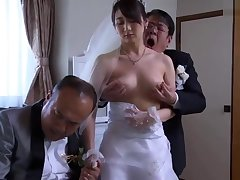 Japanese Wife Get Stripped Threads By Say no to Husbands Boss