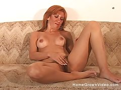 Hairy of age amateur redhead fucking the brush husband