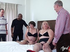 Two grown up ladies got drilled really hardcore added to they loved it