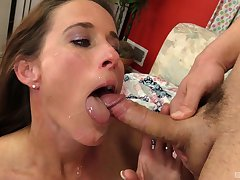 Diggings video of amateur girlfriend Sofie Marie acquiring drilled