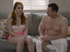 Old timer is fucking all holes of 19 yo firsthand Arietta Adams and cums more her frowardness