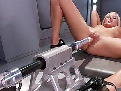 Fun Roughly Love Making Machine - Kate England