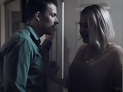 Codey Steel is gender deep throat and wringing wet twat of lord it over sexy stepmom Kit Mercer