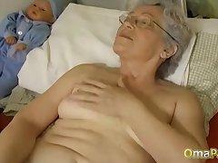 OmaPasS Big Natural Tits Distressed by Lesbians