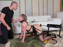 Fucking remarkable single woman Dee Williams gets fucked for debt