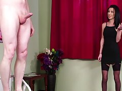 Intense action be worthwhile for someone's skin brunette woman relative to a black dress