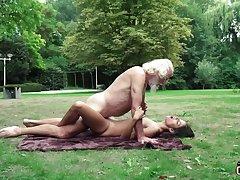 70 yr senior granddad pulverizes legitimate yr doyenne female wails and ruffled