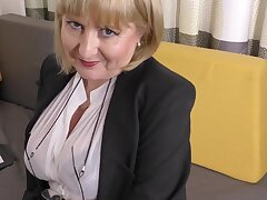 A highly glamour job concentrate by 57yo handsome Lorna blu