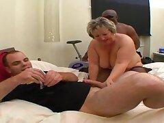 Fat matriarch gangbang hard porn clip