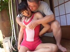 POV video be advisable for a naughty Japanese chick pleasuring a stiff dick